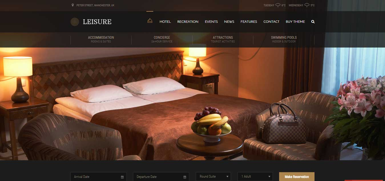 About What Makes a Good Hotel Website
