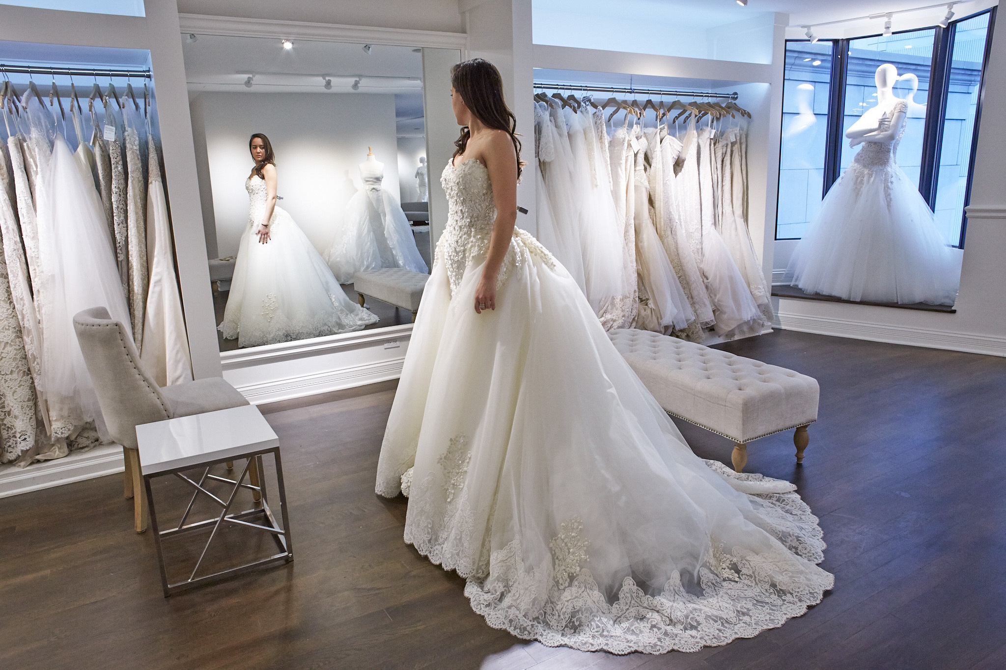 shopping for designer wedding dresses event supervision